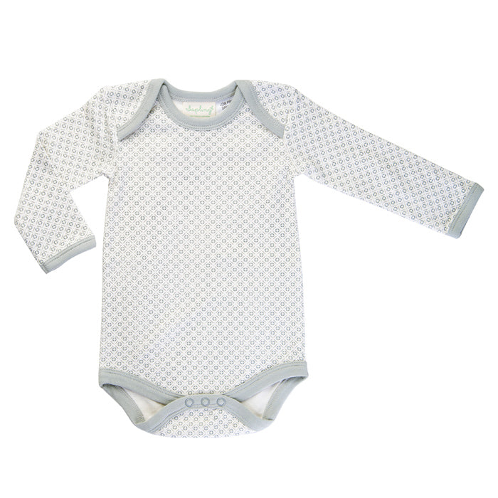 Dove Grey Long Sleeve Bodysuit