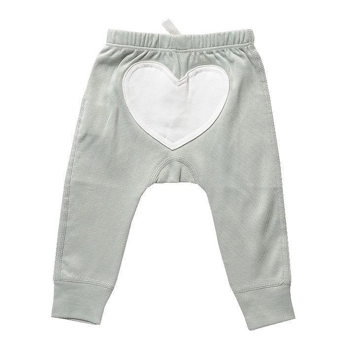 Wooded Grey Heart Pants