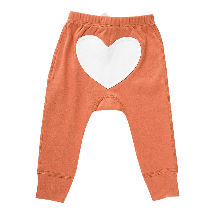 Fox Brown Heart Pants