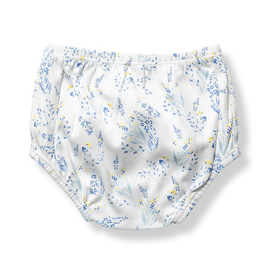 sapling meadow organic cotton baby bloomers diaper cover