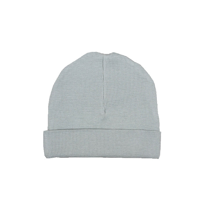 sapling organic cotton clothes for baby alpine grey waffle hat
