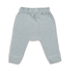 sapling organic cotton clothes for baby alpine grey waffle pants