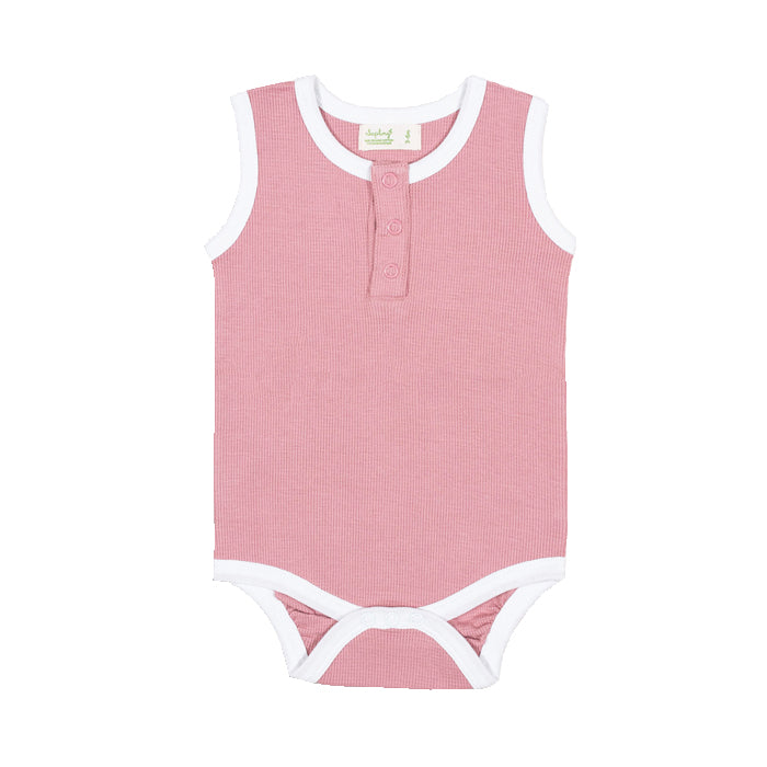 saplingchild organic cotton baby wear bramble tank bodysuit babygirl clothes