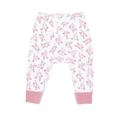sapling organic cotton clothes for baby bramble pink pants