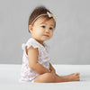 saplingchild organic cotton baby wear bramble lace bodysuit babygirl clothes