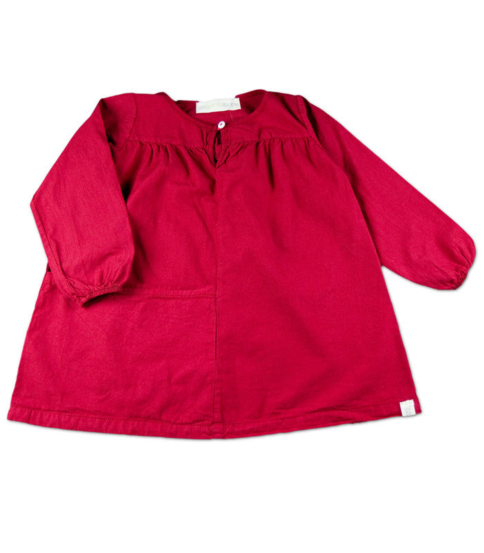 Smock Dress in Red
