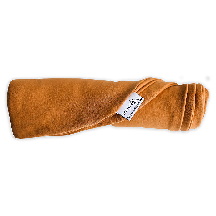 snuggle me organic ember orange baby lounger cover