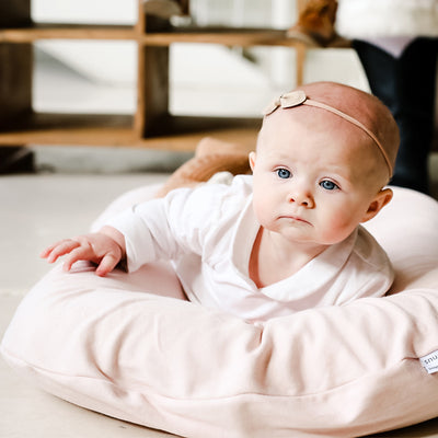 Snuggle Me Organic Lounger with Sugar Plum Cover