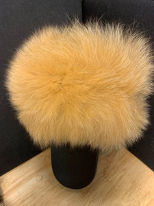"Fox Fur Slides ""Pumpkin Chai"""