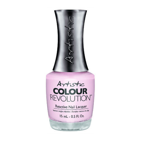 Artistic Colour Revolution Reactive Nail Lacquer - Precious (Sheer Pink) - 24
