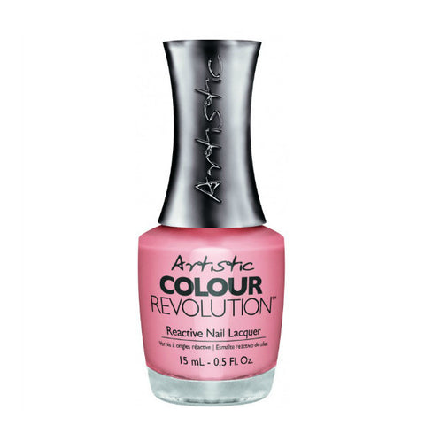 Artistic Colour Revolution Reactive Nail Lacquer - Peach Whip (Soft Peach Creme) - 46