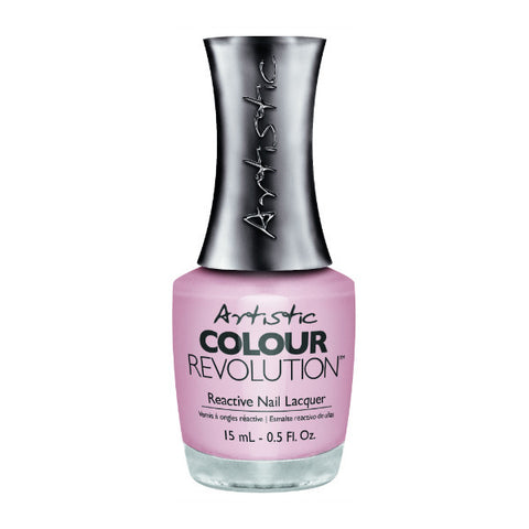 Artistic Colour Revolution Reactive Nail Lacquer - In Bloom (Baby Pink Shimmer) - 78