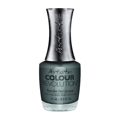 Artistic Colour Revolution Reactive Nail Lacquer - Temperamental (Light Grey Creme) - 94