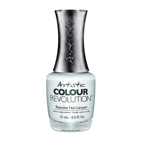 Artistic Colour Revolution Reactive Nail Lacquer - Bride (White Creme) - 103
