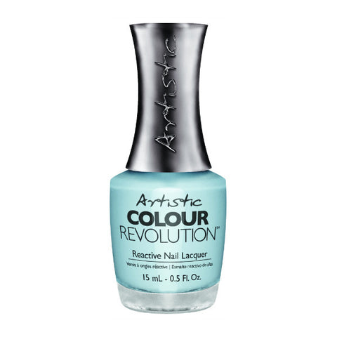 Artistic Colour Revolution Reactive Nail Lacquer - Graceful (Powder Blue Creme) - 107
