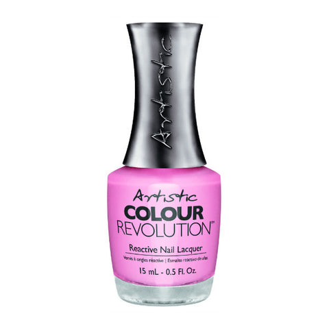 Artistic Colour Revolution Reactive Nail Lacquer - Sincere (Soft Pink Creme) - 108
