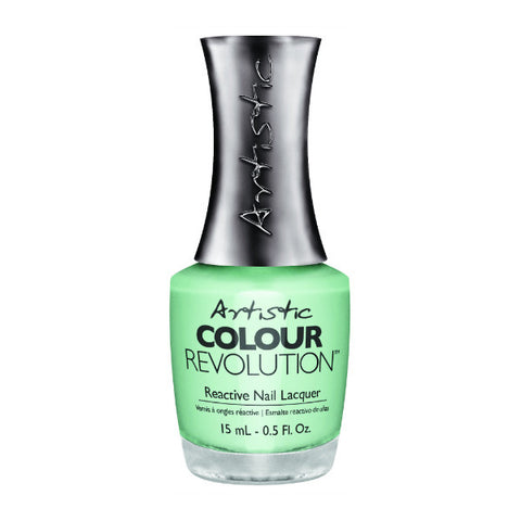 Artistic Colour Revolution Reactive Nail Lacquer - Charming (Mint Creme) - 111