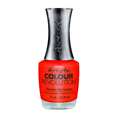 Artistic Colour Revolution Reactive Nail Lacquer - Sultry (Orange Creme) - 114