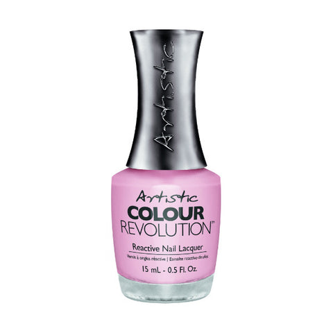 Artistic Colour Revolution Reactive Nail Lacquer - Promises (Sheer Rose) - 136