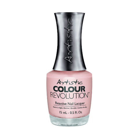 Artistic Colour Revolution Reactive Nail Lacquer - Forever (Sheer Nude) - 137