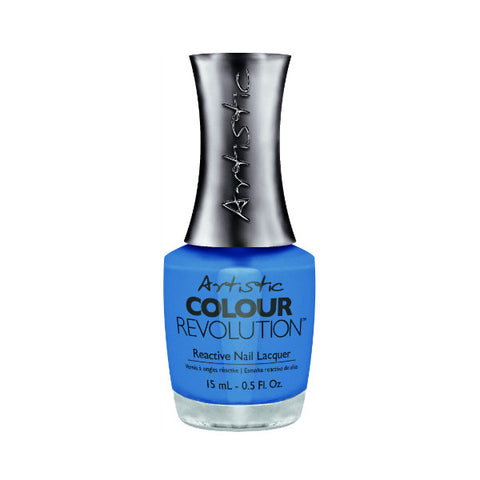 Artistic Colour Revolution Reactive Nail Lacquer - Impulse (Bright Denim Blue) - 140