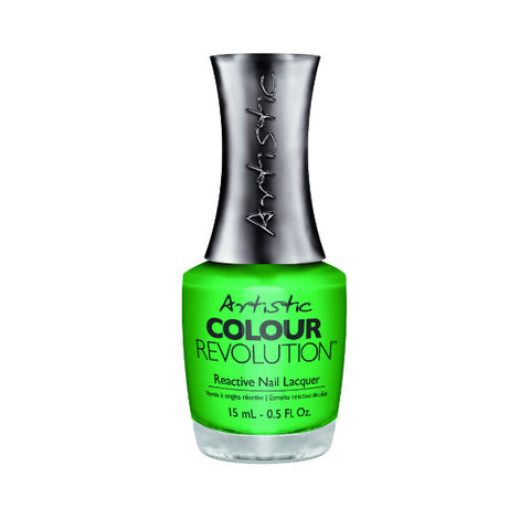 Artistic Colour Revolution Reactive Nail Lacquer - Killer Stems (Mantis Green) - 161