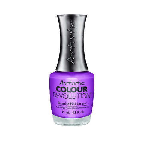 Artistic Colour Revolution Reactive Nail Lacquer - Petal To The Metal (Orchid Creme) - 164