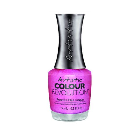 Artistic Colour Revolution Reactive Nail Lacquer - Everybody Flirts (Medium Pink Frost) - 264