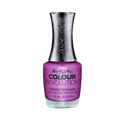 Artistic Colour Revolution Reactive Nail Lacquer - That's My Tone (Soft Mauve Pink) - 266