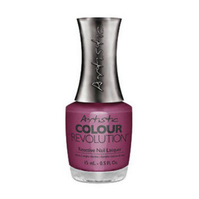 Artistic Colour Revolution Reactive Nail Lacquer - Trendy (Medium Pink Creme) - 13