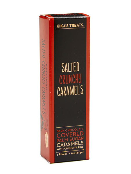 Salted Crunchy Caramels 3pc