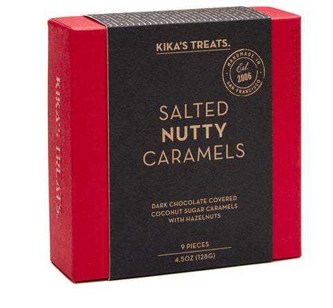 Salted Nutty Caramels 9pc