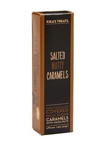 Salted Nutty Caramels 3pc