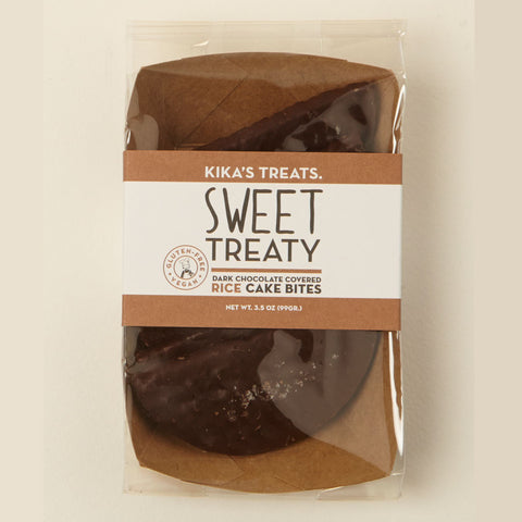 Sweet Treaty Dark Chocolate-Covered Rice Cakes