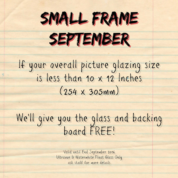 Small Frame September