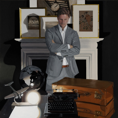 Travel Writer : Iain Faulkner Limited Edition Giclee Print