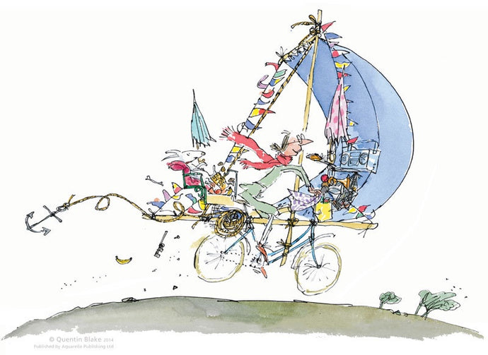 Mrs Armitage on Wheels : Quentin Blake - Have It Framed Edinburgh Picture Framer