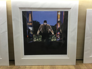 Paris 7.48pm By Iain Faulkner Premounted  Giclee  Reproduction - Have It Framed Edinburgh Picture Framer