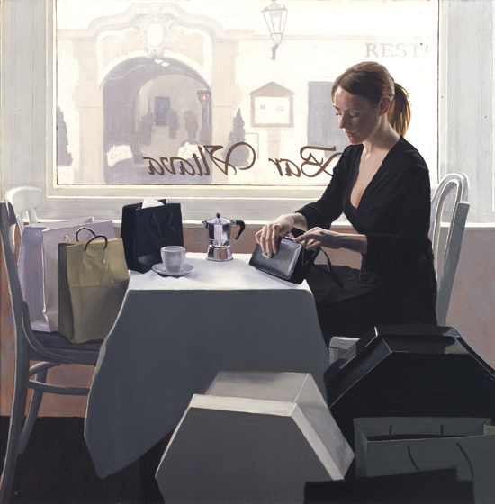Coffee Break : Iain Faulkner Limited Edition Giclee Print