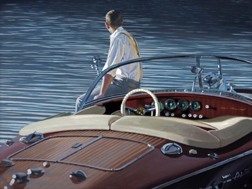 Contemplating Return : Iain Faulkner - Have It Framed Edinburgh Picture Framer