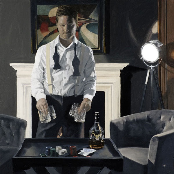 Poker Night : Iain Faulkner - Have It Framed Edinburgh Picture Framer
