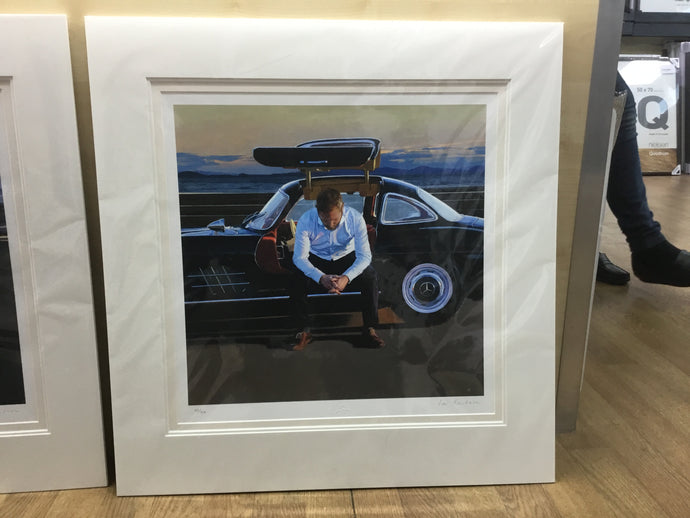 Pit Stop II by Iain Faulkner Mounted Limited Edition Print - Have It Framed Edinburgh Picture Framer