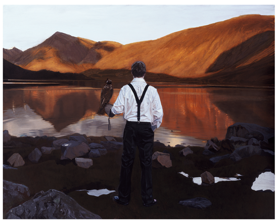 Falconer Loch Etive : Iain Faulkner - Have It Framed Edinburgh Picture Framer