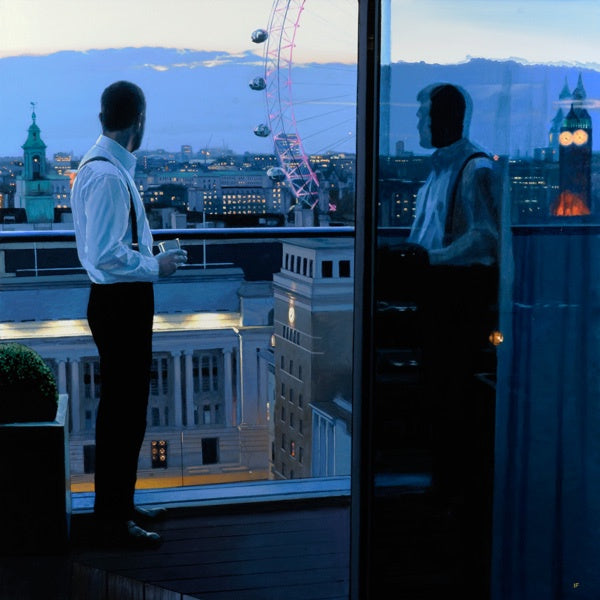 London Evening : Limited Edition Print by Iain Faulkner - Have It Framed Edinburgh Picture Framer