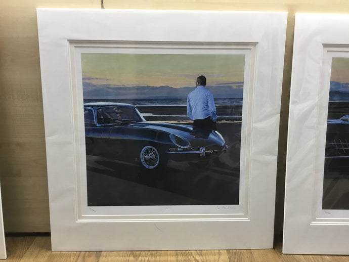 A Break In The Journey Mounted Limited Edition Giclee Print by Iain Faulkner - Have It Framed Edinburgh Picture Framer