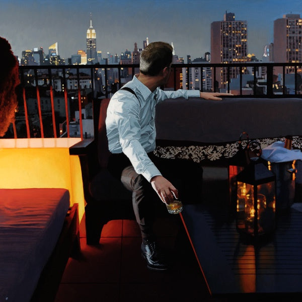 NY VIEW : Limited Edition New York Print Iain Faulkner - Have It Framed Edinburgh Picture Framer