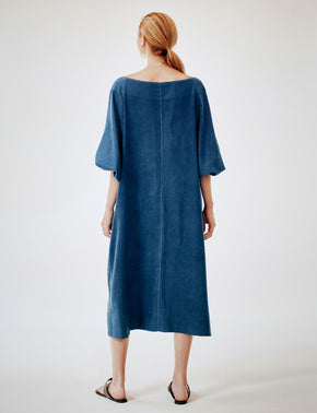 Meditation Dress dark indigo