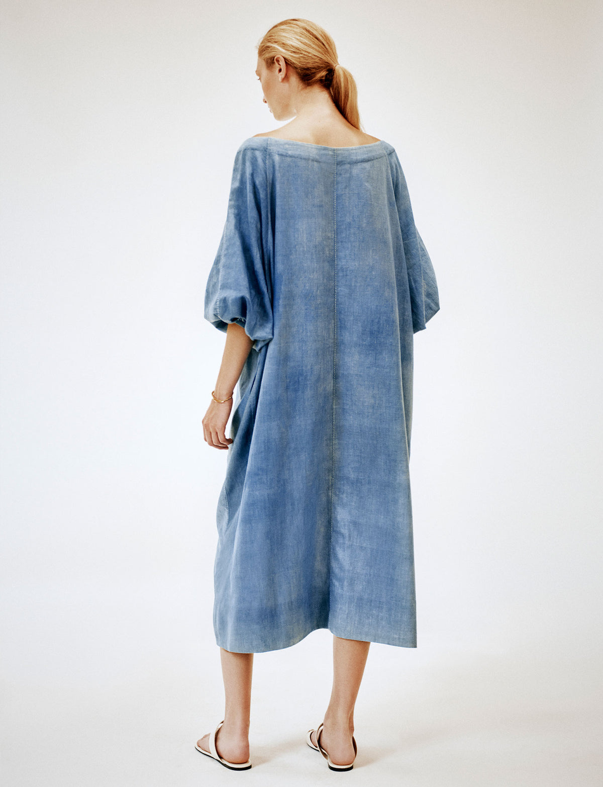 Meditation Dress light indigo