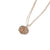 Braided Elementos Medallion Necklace - Air