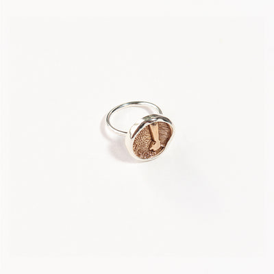 Medallion Elementos Ring - Earth